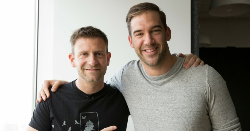 Lewis Howes and Chase Jarvis